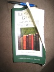 My well worn copy of Whitman's Leaves of Grass
