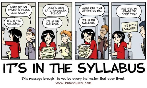 Syllabus Comic